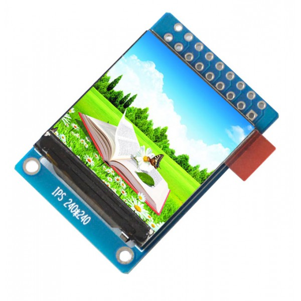 ماژول 1.3 اینچ 1.3inch LCD display Module HD Screen, 240x240 - Parallel / SPI - ST7789 - کویر الکترونیک