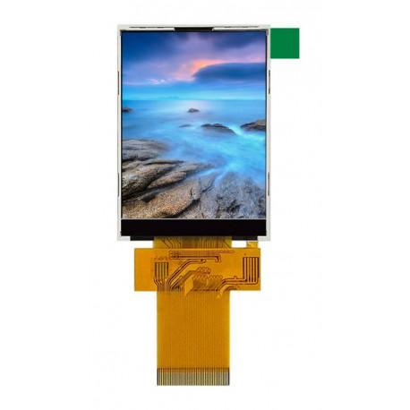 السیدی 2.4 اینچ بدون تاچ TFT LCD 2.4 inch without touch - 240x320 - SPI/Parallel - ILI9341 - کویر الکترونیک