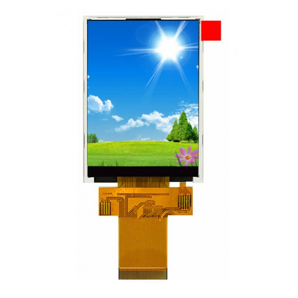 السیدی 2.8 اینچ بدون تاچ TFT LCD 2.8 inch without touch - 240x320 - SPI / Parallel - ILI9341