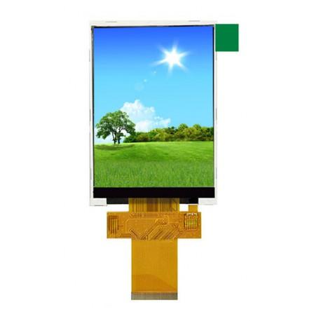 السیدی 3.2 اینچ بدون تاچ TFT LCD 3.2 inch without touch - 240x320 - SPI / Parallel - ILI9341- کویر الکترونیک