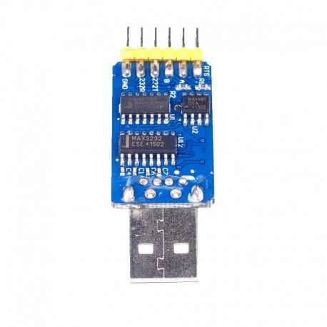 Mini LPC programmer- مینی پروگرامر چندکاره ( مبدل USB / TTL / RS232 / RS485)- کویرالکترونیک
