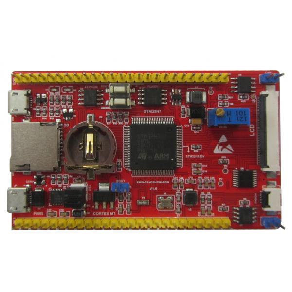 برد کاربردی و حرفه ای EWB-STM32H750-RGB-V1.0