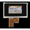 السیدی 5.0 اینچ بدون تاچ TFT LCD 5 INCH 480x272 RGB without touch - ارزان قیمت