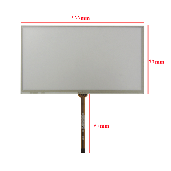 وسط فلتTouch 7.0 inch تاچ اسکرین 7 اینچ (کیفیت خوب)-کویرالکترونیک