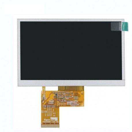 السیدی 5.0 اینچ بدون تاچ TFT LCD 5 INCH 480x272 without touch HannStar - کویر الکترونیک