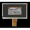 السیدی 7.0 اینچ فلت کوتاه TFT LCD 7 inch Without touch 1024x600