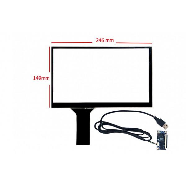 تاچ خازنی 10.6 اینچ کیفیت بالا قابلیت کار در تمامی سیستم عامل ها touch 10.6inch- کویرالکترونیک