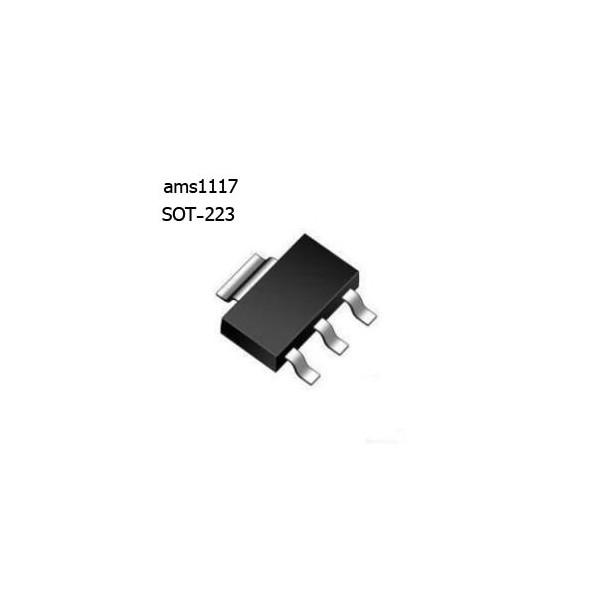 ams1117-5رگولاتور 5 ولت - کویرالکترونیک