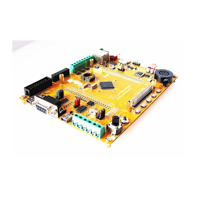 STM32F107VCT6+USB OTG+ETHERNET 10M/100M+Support tft 5+4 3