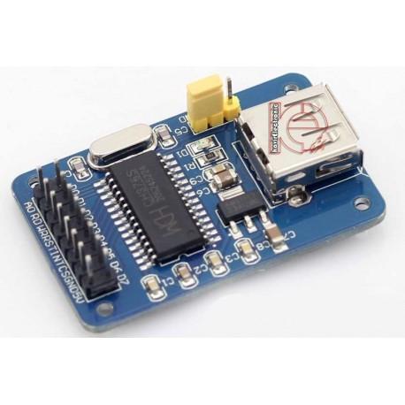 ماژول USB HOST با آیسی CH376S -کویرالکترونیک