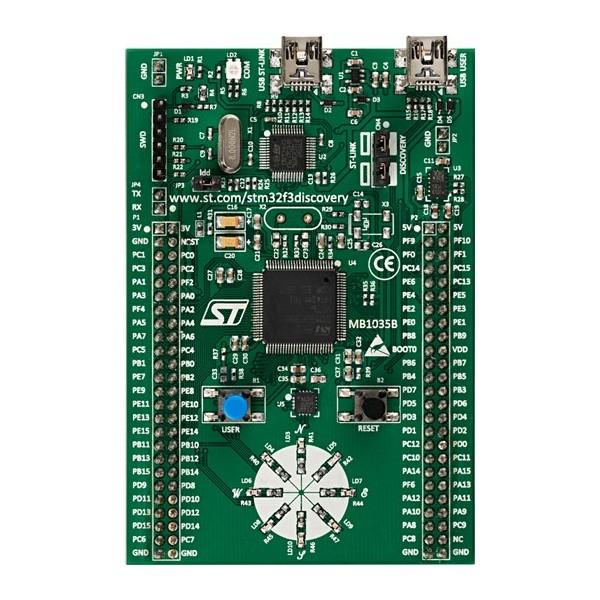 برد STM32F3DISCOVERY-کویرالکترونیک