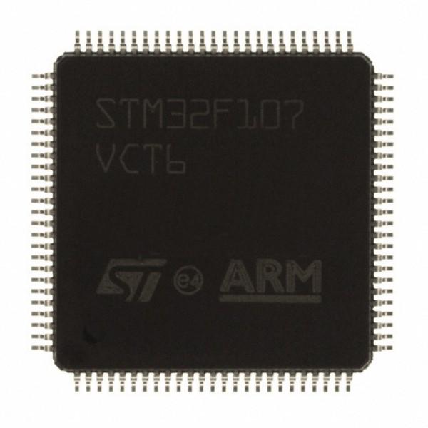 میکروکنترلر stm32f107vct6 LQFP100 اورجینال -New and original+گارانتی
