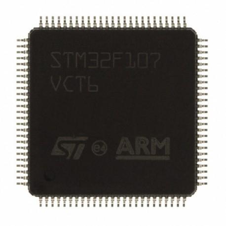 میکروکنترلر stm32f107vc6 اورجینال LQFP100 کویر الکترونیک