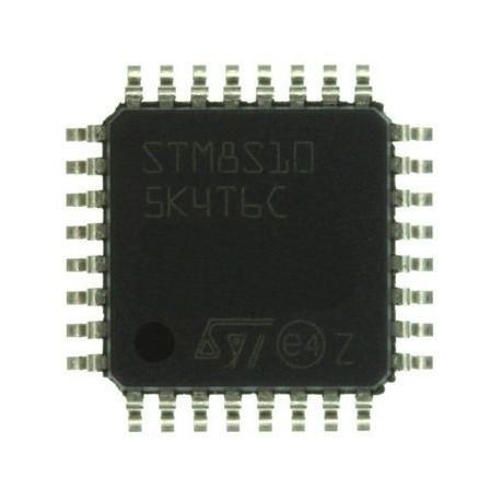 STMICROELECTRONICS - STM8S105K4T6C - MCU, 8BIT, STM8S, 16K FLASH, 32LQFP - کویر الکترونیک