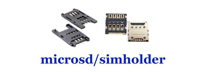 سوکت microsd/simholder