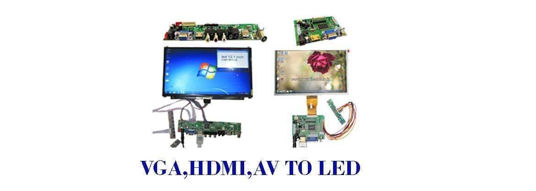 انواع درایور برد VGA,AV,HDMI