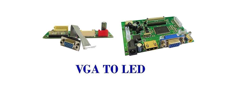 VGA To LED/LCD