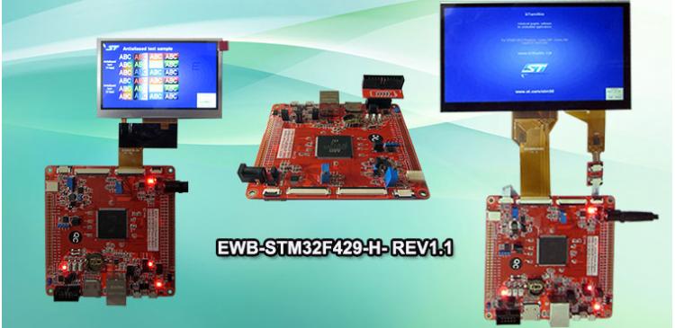 معرفی برد EWB-STM32F429-H- REV1.1 (جدید)