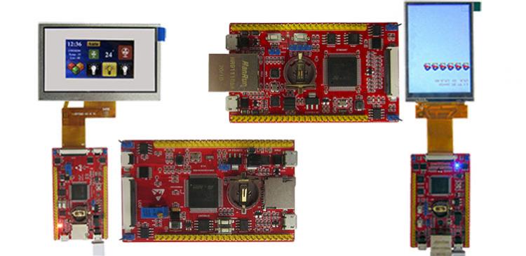 معرفی بردهای EWB-STM32H750-LAN وEWB-STM32H750-RGB